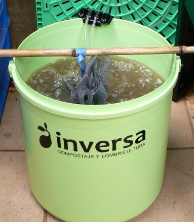 Hacer té de compost, maquina de tés, fabricar maquina de tés