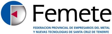 Federación provincialde empresarios del metal y nuevas tecnologías de Santa Cruz de Tenerife, Federación de empresarios del metal de Tenerife