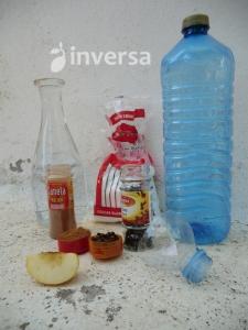 trampa, líquido atrayente carpocapsa, gusano de la manzana