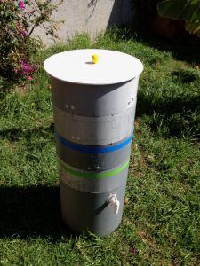 Vermicompostador reciclado y de bajo coste