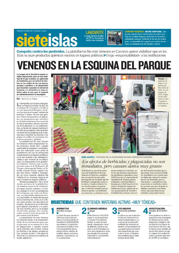 Reportaje Canarias7